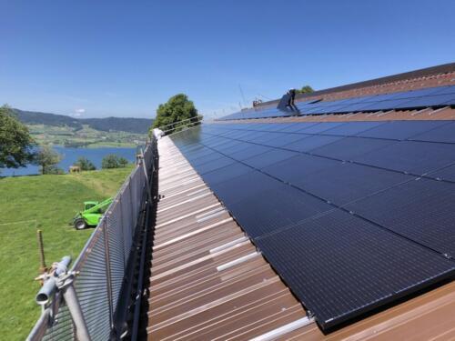 2020 Oberschwendi, Alosen, Luzia und Markus Hollenstein  Durchschnittliche Stromproduktion 53'000 kWh/Jahr